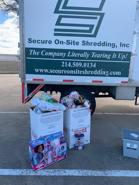 Toys For Tots Shred Event